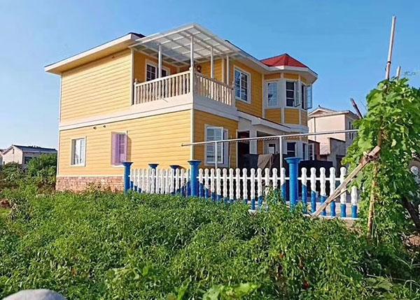 河北保定定兴县新型装配式建筑轻钢房屋