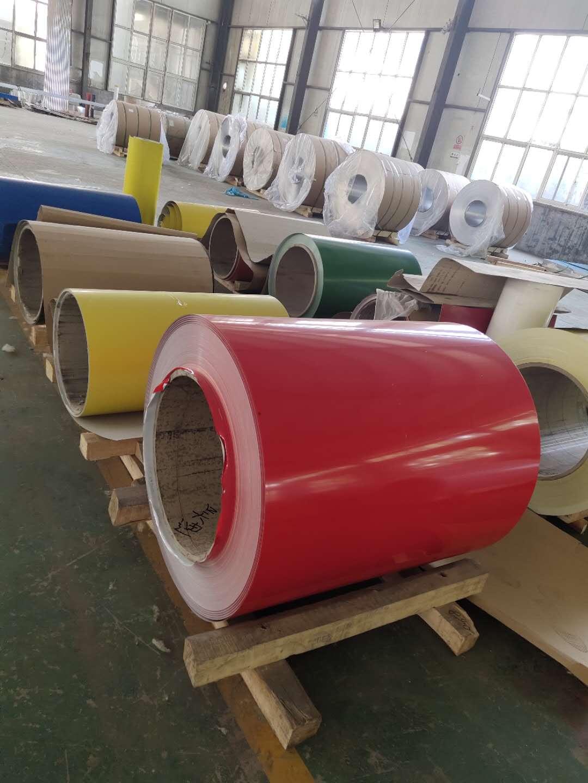 哈尔滨市宾县压花用0.5毫米管道保温铝卷免运费