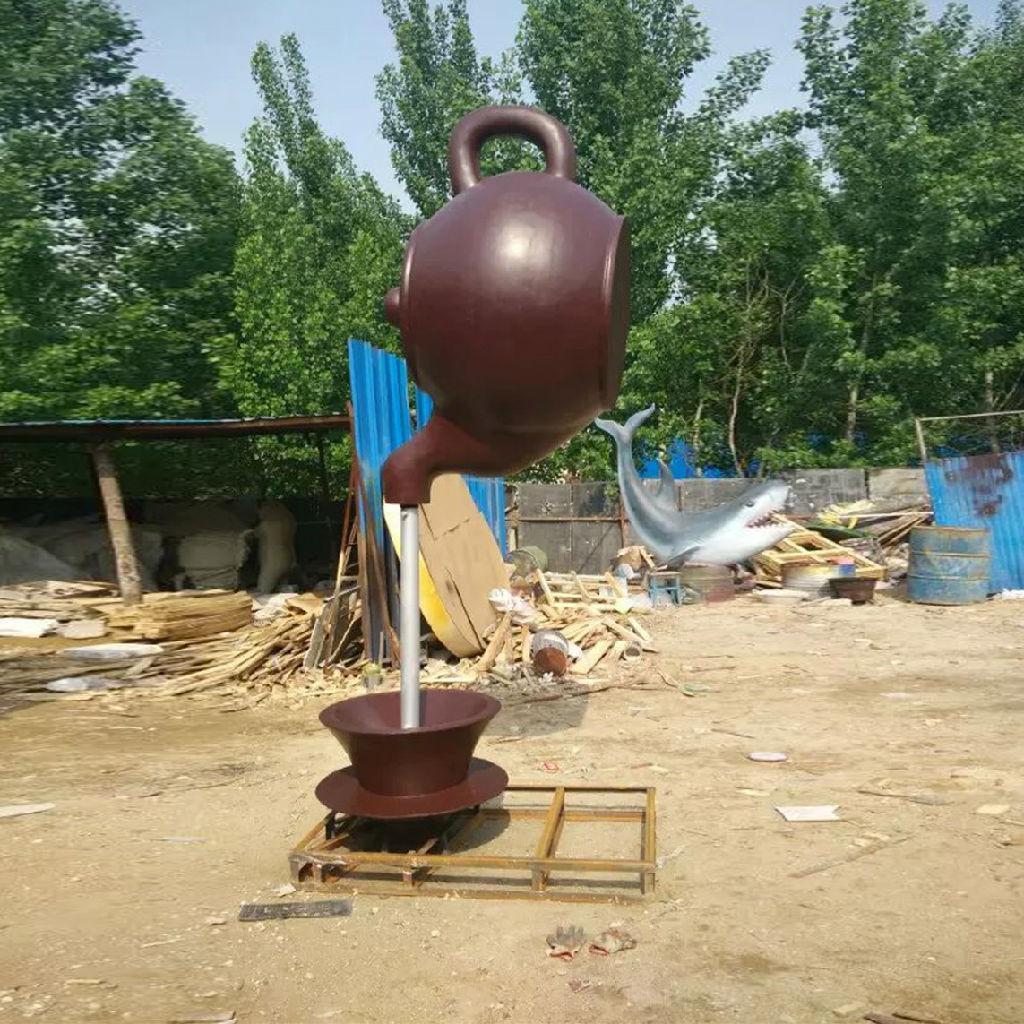 大型天壶雕塑厂家-固体天壶雕塑-天津电镀天壶雕塑厂家