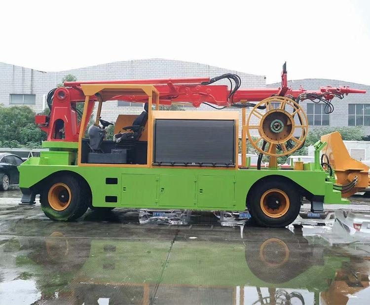 广西北海湿喷车机械手供应/液压湿喷机每周回顾