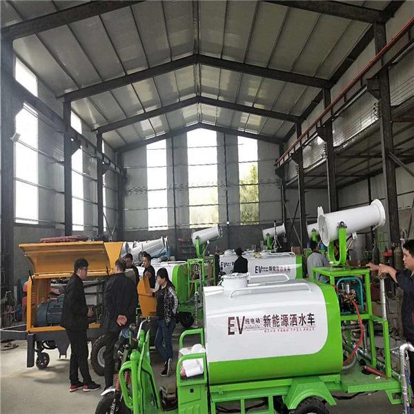 浙江宁波农用车载喷雾机电动三轮洒水车