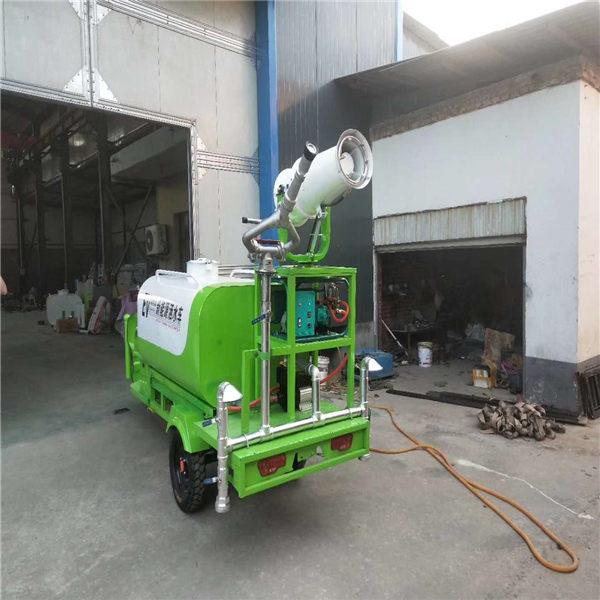 广东惠阳可加车载喷雾机电动三轮洒水车