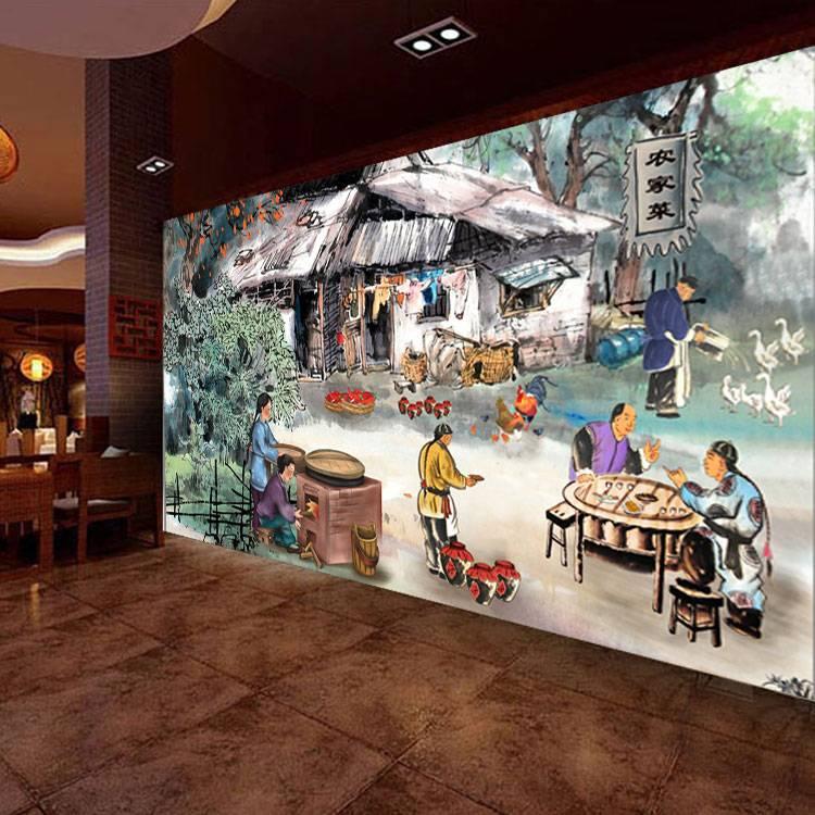 咸阳市酒店壁画设计公司