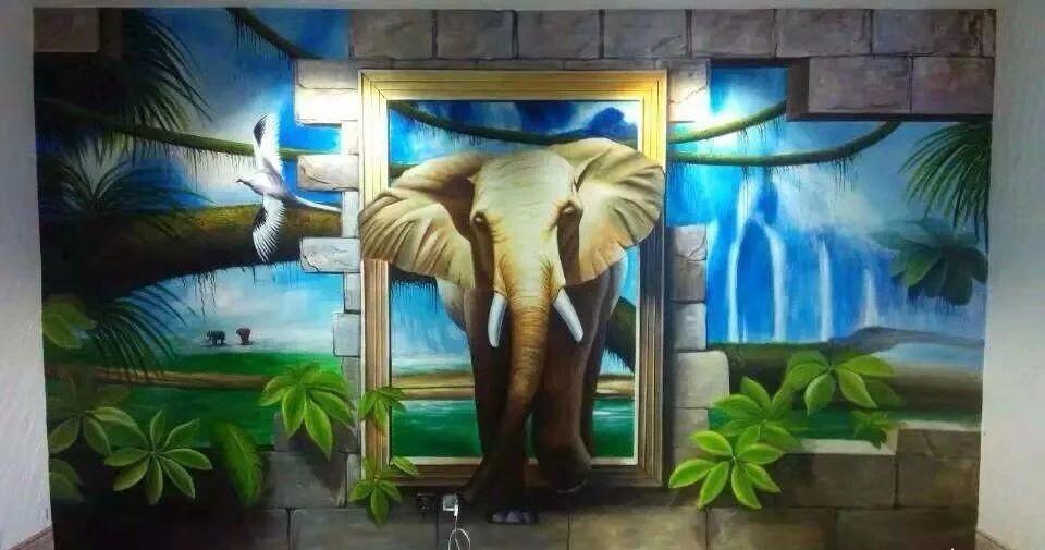 吉安市吉安县民族文化墙绘