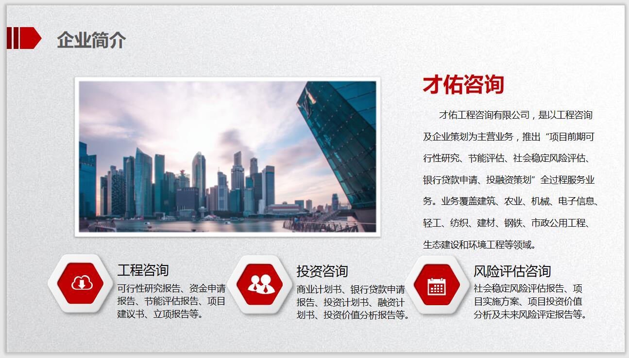 邯郸代写项目建议书/技术评估报告