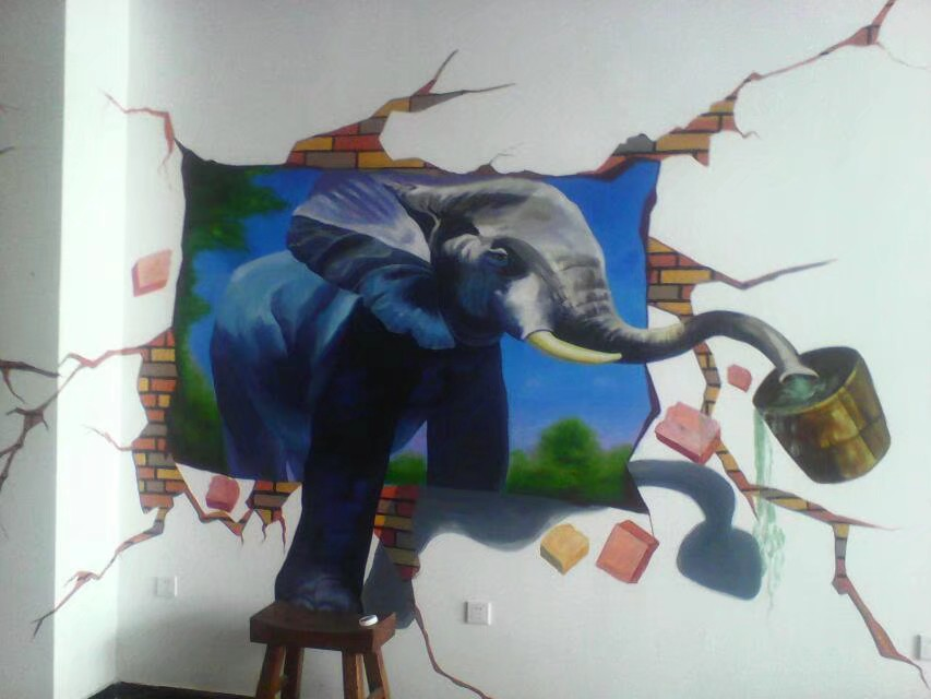 永新私家壁画