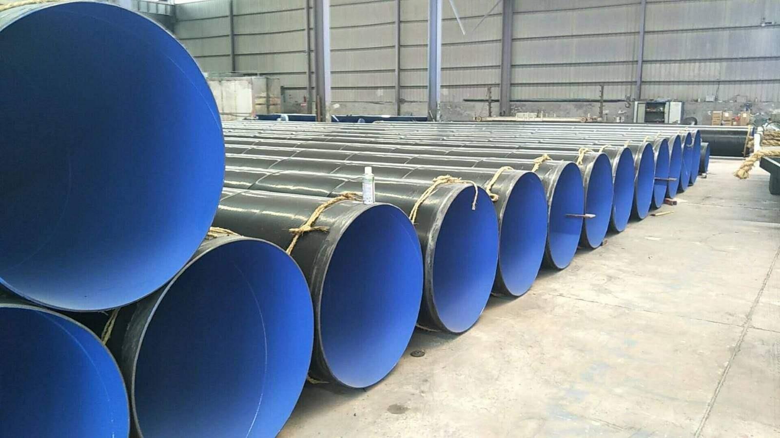 河南省鹤壁市污水排放及处理用地埋式3pe防腐螺旋钢管价格查询