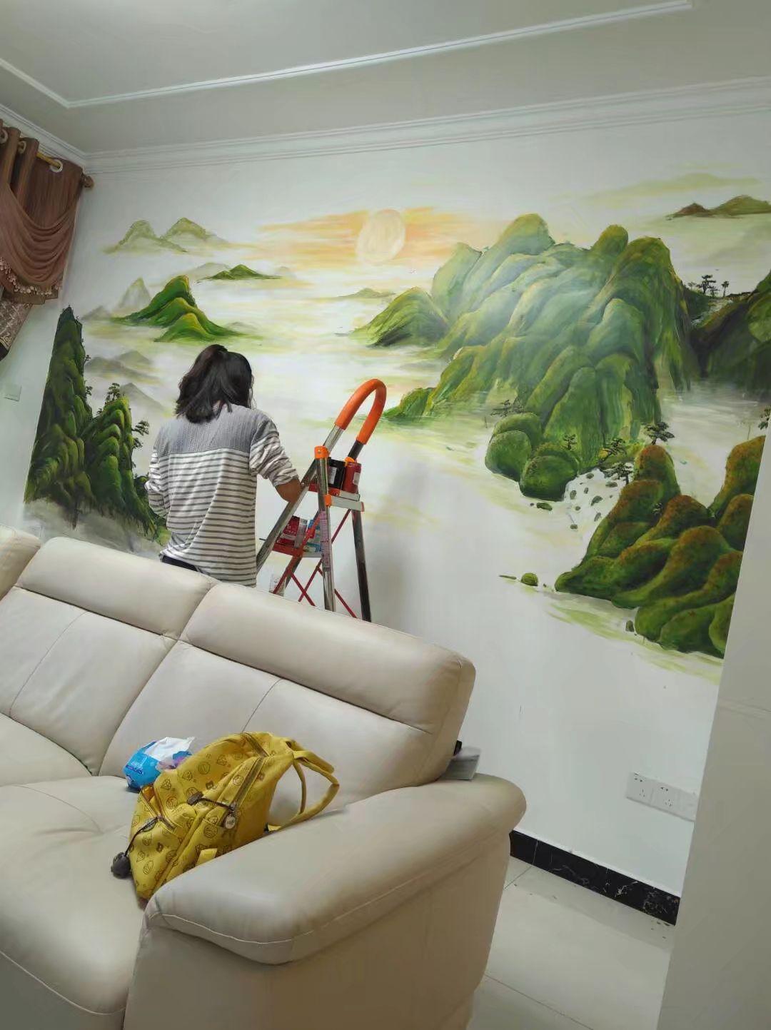 泰和主题壁画主题彩绘