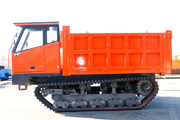 固始柴油履帶搬運車履帶運輸自卸車1噸履帶爬山虎車