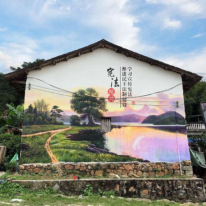 汕头市手绘背景墙团队