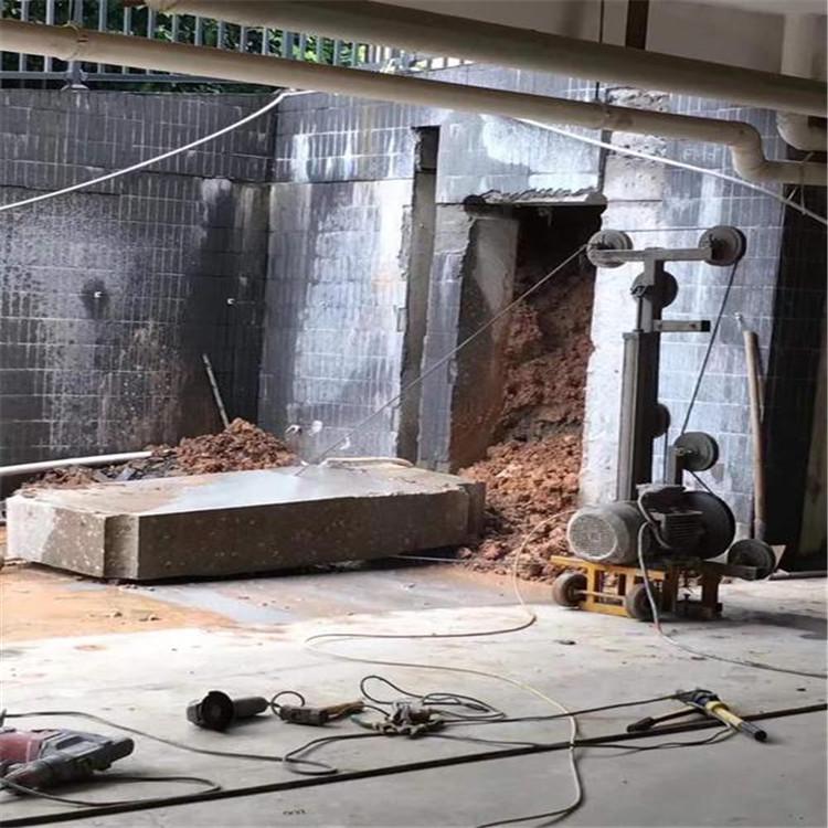 浙江高速防撞墙切割操作流程