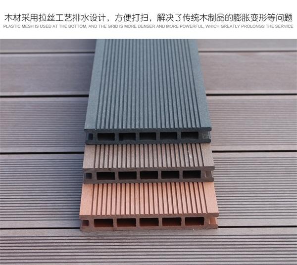 辽阳市塑木地板效果图多少钱一米?
