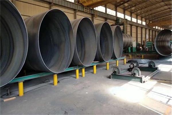 DN720*9螺旋缝钢管一吨价格是多少