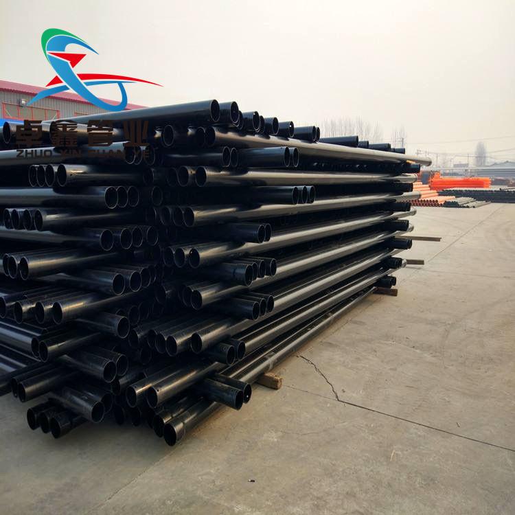 平顶山电力热浸塑钢管DN150