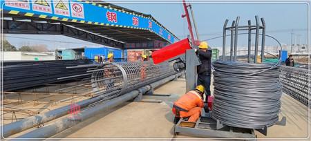 河南南阳钢筋笼一次成型机缠筋机厂家