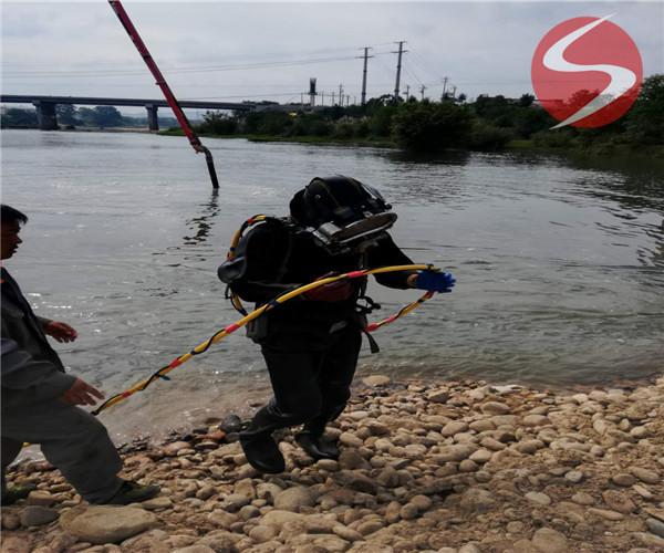 河底沉管——(娄底市潜水公司