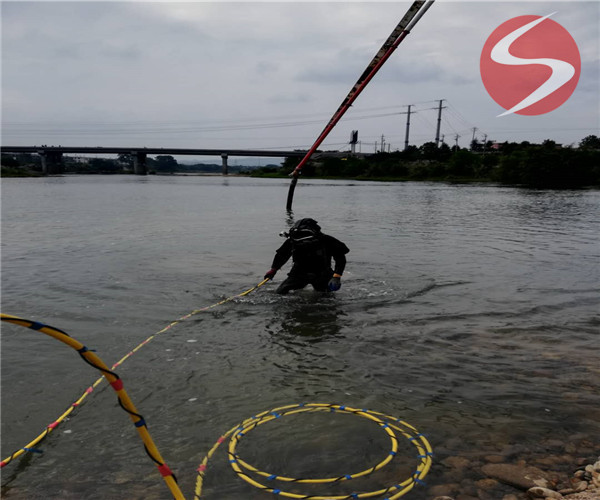 水下安装过河管道——(宜春市水下工程