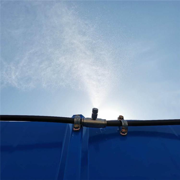 林芝 建筑工地围挡喷淋雾化降尘系统