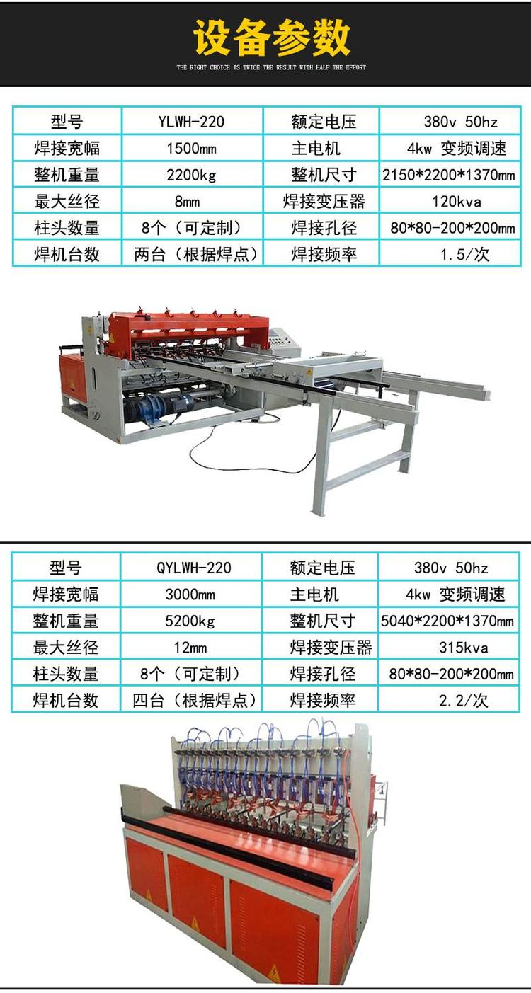 四川内江网片焊接机定制网片排焊机咨询