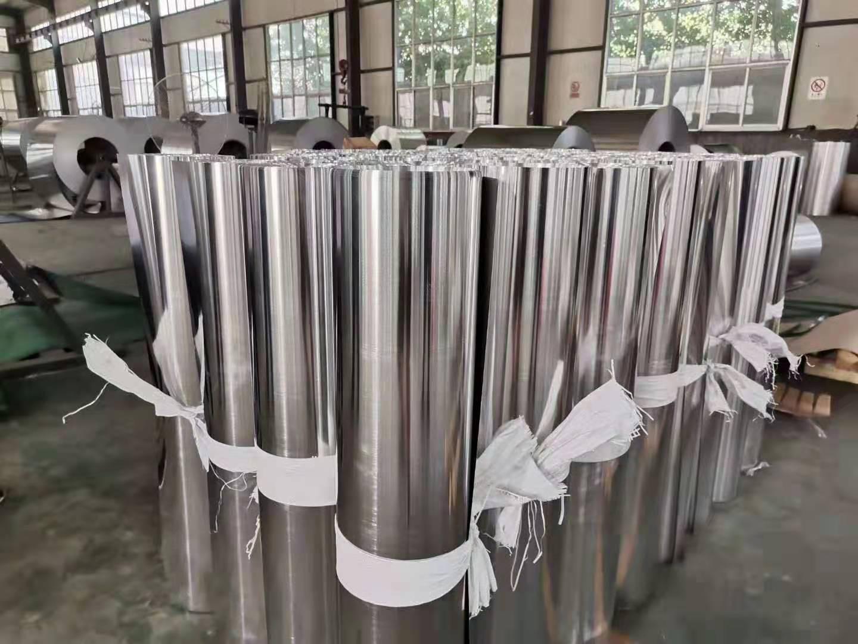 云南省玉溪市0.5mm橘皮花纹铝卷现货销售花纹保温防腐铝卷板