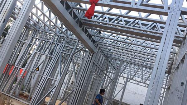 新疆克拉玛依独山子区轻钢农村建房
