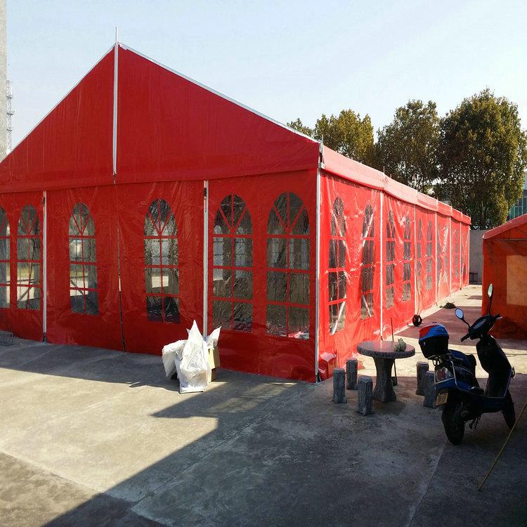 抚州餐厅篷房租赁搭建哪个厂家有50米跨度蓬房出租的-诺徽特棚房公司