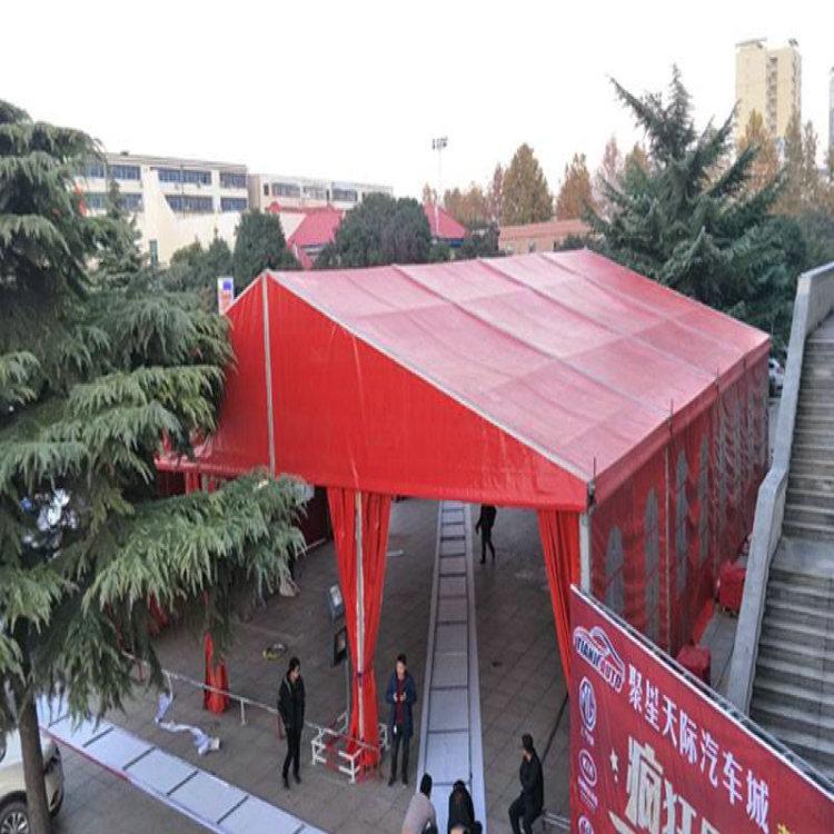 泰州红色布房子租赁搭建哪个厂家有50米跨度蓬房出租的-诺徽特棚房公司