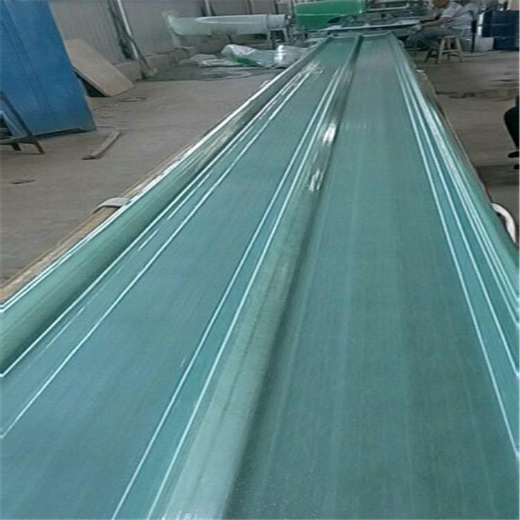 莱芜860型玻璃钢采光带价格-frp采光瓦厂