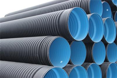 甘肃大口径PE钢带增强螺旋波纹管性价比高-河北浩源