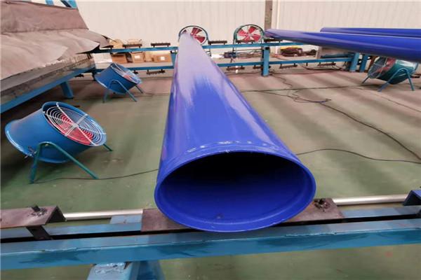 珠海涂塑螺旋钢管高清图
