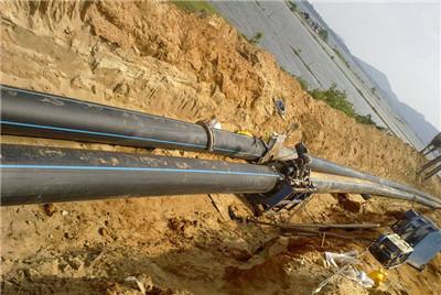 兰州钢带增强PE螺旋波纹管 国标包检PE双壁波纹管生产厂家