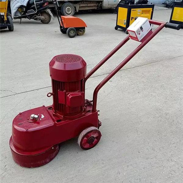 兴义 混凝土路面磨石机 大理石地坪350型水磨石机