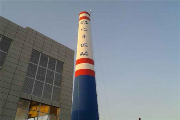 烟囱美化—(台州市安全施工