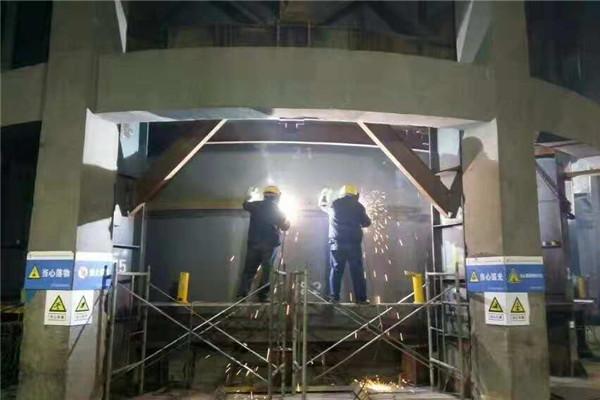 庆阳市45米钢烟囱制作公司勇创一流