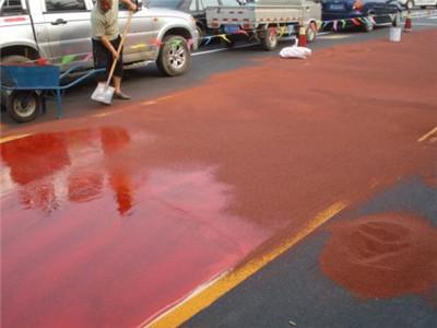 牡丹江彩色防滑路面好不好