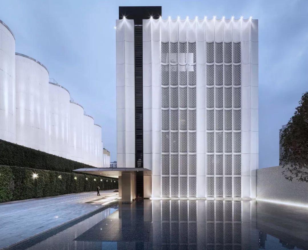 江苏淮安超高性能混凝土造型外墙
