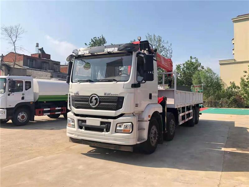 黄南藏族自治州陕汽德龙16吨随车吊多少钱