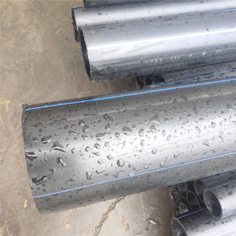 柳州城中湖北pe管生产厂家自来水管pe给水管管件图片