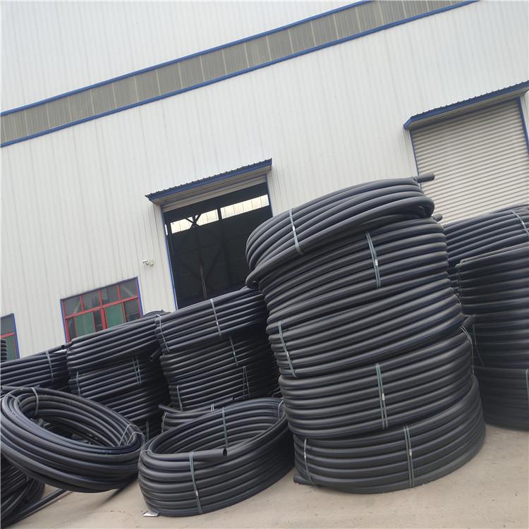 龙圩小口径pe给水管 饮水管 盘管穿线管一手货源
