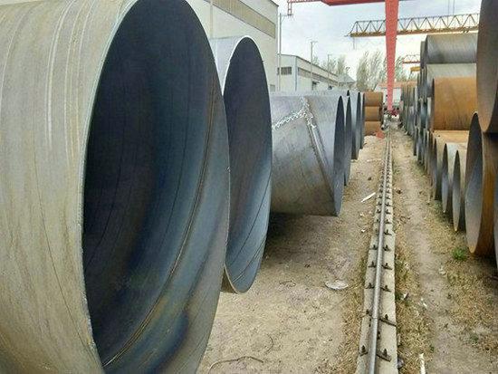 海盐管线Q235B螺旋钢管实力厂家