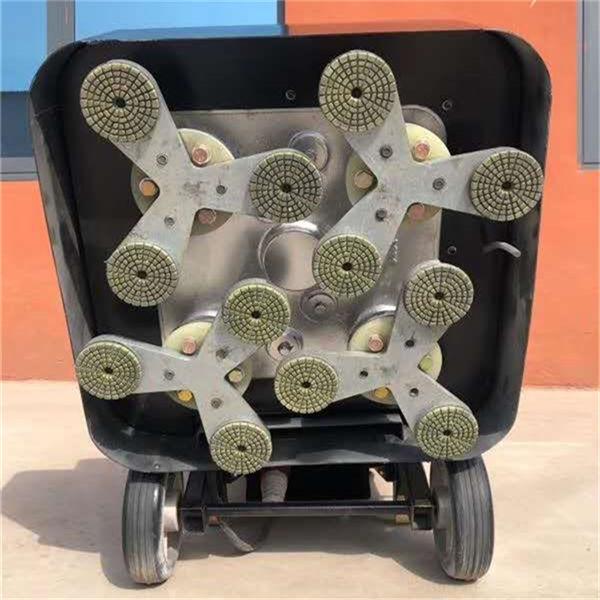 广东开 12头研磨机 630型固化剂研磨机