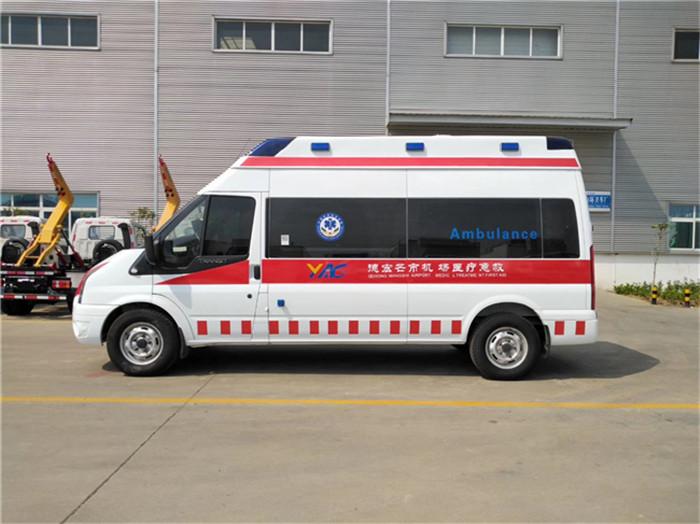 怎么選擇監護型醫院救護車批量訂制價格