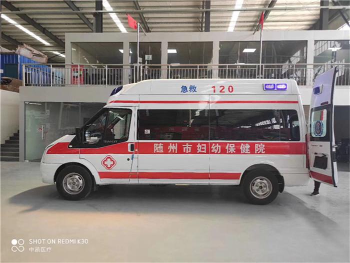 稱心的小型負壓救護車批量訂制價格