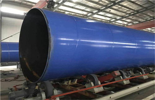 广安DN250内外涂塑复合螺旋钢管厂家