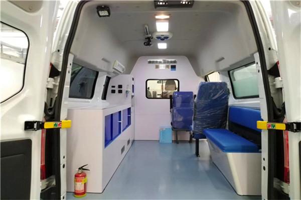 玉溪加盟救护车整车价格