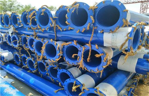 广安煤矿井用涂塑复合螺旋钢管厂家