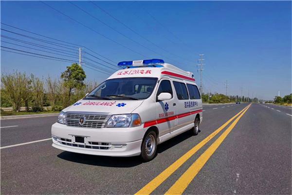 鄂州柴油版120救护车销售价格