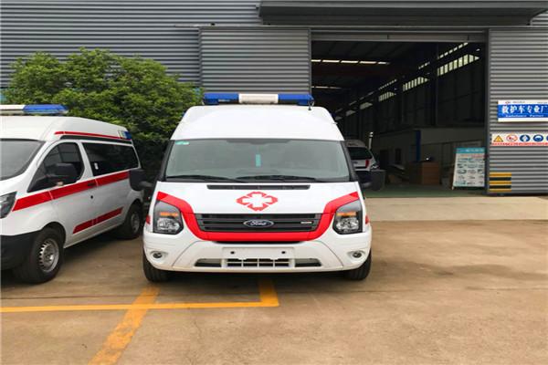 汕头监护型救护车心理价格