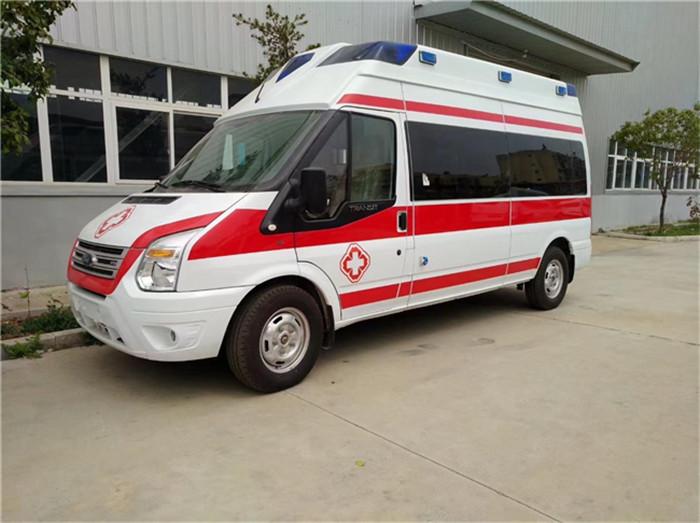 價格劃算的福特新全順自動擋救護車廠家價格