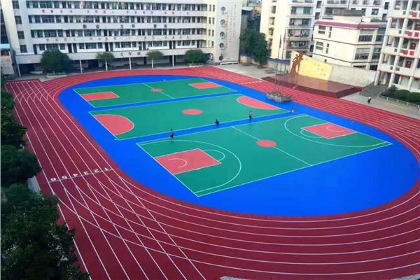 延边朝鲜族自治州学校操场专业施工